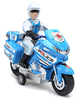 Fab N Funky Police Print Toy Bike