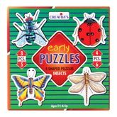 Buy Creative''s - Early Puzzles - 4 Shaped Puzzles Insects