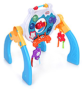 Little Tikes Musical Ocean 3-in-1 Gym 0 Month+, Complete Activity Centre From New Born Sta...