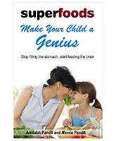 Pegasus Superfoods Make Your Child A Genius Book - English