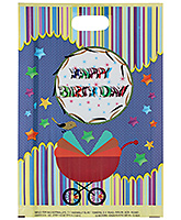 Buy Karmallys Printed Happy Birthday Bag- Blue