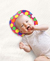Buy Babyhug Baby Pillow Polka Dot Print - Pink
