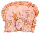 Buy Babyhug Semi Circular Jumbo Shape Supporter Pillow - Orange