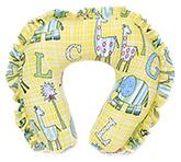 Buy Babyhug Frill Neck Protector Pillow - Yellow