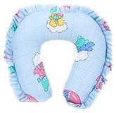 Buy Babyhug Frill Neck Protector Pillow - Blue