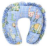 Buy Babyhug Frill Neck Protector Pillow - Dark Blue