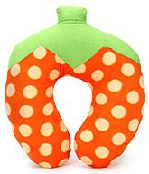 Buy Babyhug Strawberry Design Neck Protector Pillow - Orange