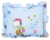 Buy Babyhug Rectangular Loving You Print Baby Pillow - Blue