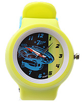 Titan Zoop Analog Wrist Watch - Yellow and Blue