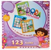 Funskool - Dora The Explorer - 123 Game 3 Years+, 1 - 4 Players, An adventure learning!