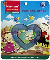 Buy Morisons Baby Dreams Silicone Toy Teether- Blue
