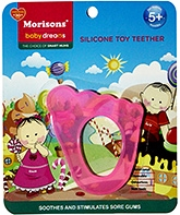 Buy Morisons Baby Dreams Silicone Toy Teether- Pink