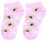 Buy Mustang Ankle Length Teddy Print Socks