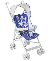 Buy Fab N Funky Light Weight Stroller Flower Print - Blue