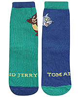 Tom and Jerry Ankle Length Socks - Tom and Jerry Print