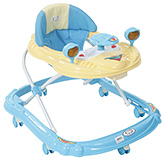 Fab N Funky Baby Walker Car Shape - Blue