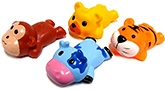 Buy Marbles Squeeze Sleeping Animals Bath Toys - Set of 4