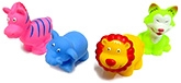 Buy Marbles Squeeze Wild Animals Bath Toys - Set of 4