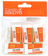Buy Camlin Eraser Pouch - Pack Of 5