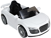 Fab N Funky Musical Baby Car - White