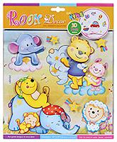 Buy Fab N Funky Room Decor 3D Foam Baby Animal Stickers