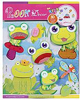 Buy Fab N Funky Room Decor 3D Foam Froggy Stickers