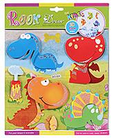Buy Fab N Funky Room Decor 3D Foam Dinosaurs Stickers