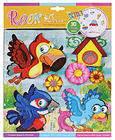 Buy Fab N Funky Room Decor 3D Foam Bird and Flower Stickers