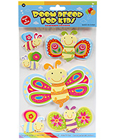 Fab N Funky  Handmade 3D Decoration Stickers - Butterfly