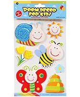 Buy Fab N Funky  Handmade 3D Decoration Stickers - Honey Bee