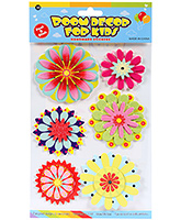 Buy Fab N Funky  Handmade 3D Decoration Stickers - Flowers