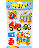 Buy Fab N Funky  Handmade 3D Decoration Stickers - Vehicle