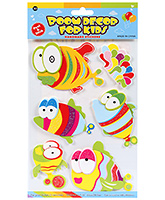Buy Fab N Funky  Handmade 3D Decoration Stickers - Fish