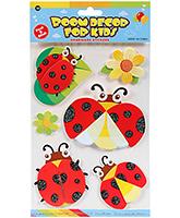 Buy Fab N Funky  Handmade 3D Decoration Stickers - Beetles