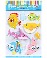 Buy Fab N Funky  Handmade 3D Decoration Stickers - Shark