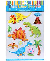 Buy Fab N Funky  Handmade 3D Decoration Stickers - Dinos