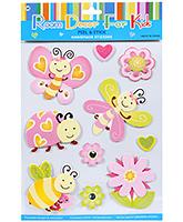 Buy Fab N Funky  Handmade 3D Decoration Stickers - Beetle N Butterfly