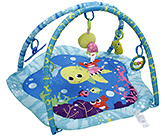 Buy Mastela Multi Colour Baby Play Gym Green And Blue - 5 Fun Toys
