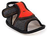 Buy Littles Denim Fancy Sandals