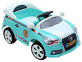 Fab N Funky Battery Operated Car RC Ride On - Aqua Blue