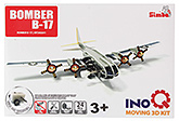 Buy Simba Bomber B 17 INOQ Moving 3 D Kit Puzzle - 24 Pieces