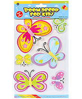 Fab N Funky Room Decor 3D Handmade Butterfly Sticker