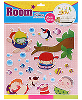 Fab N Funky Room Decor Pop Up Stickers- Boys and Fish Print
