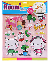 Fab N Funky Room Decor Pop Up Stickers- Cobbon Candy Print