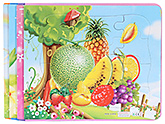 Buy Fab N Funky Fruits Print Puzzle Set