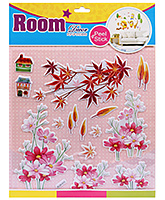 Fab N Funky Room Decor Pop Up Stickers- Flowers Print
