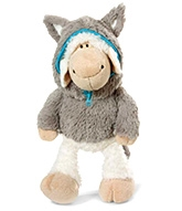Nici Sheep Jolly Logan Soft Toy with Clothing