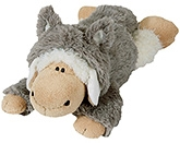Nici Lying Sheep Jolly Logan Soft Toy with Clothing