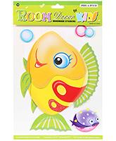Buy Fab N Funky Handmade Decor Stickers- Fish Design