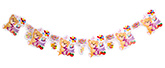 Fab N Funky Teddy Print Birthday Banner - 6 pieces